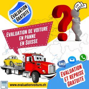 Évaluation de voiture en panne en Suisse facilement